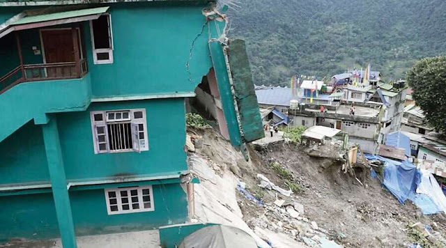 Rain & landslides hit north Bengal, Sikkim