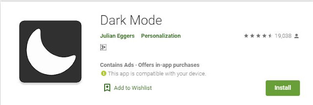 Cara Mengaktifkan Dark Mode di Google Play Store Android
