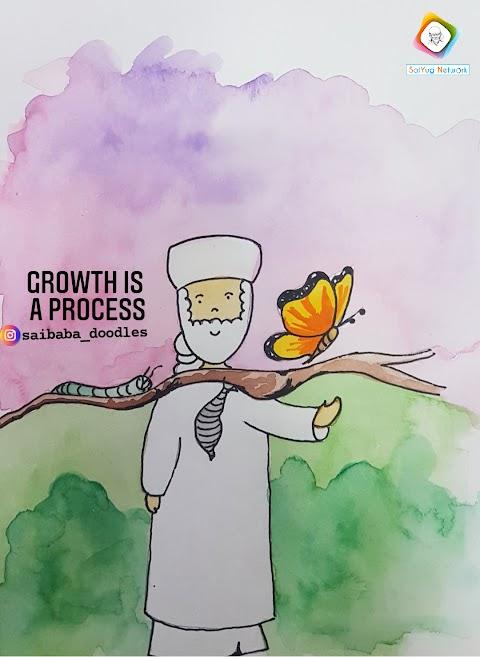 Growth - Sai Baba Doodle Art Showcase