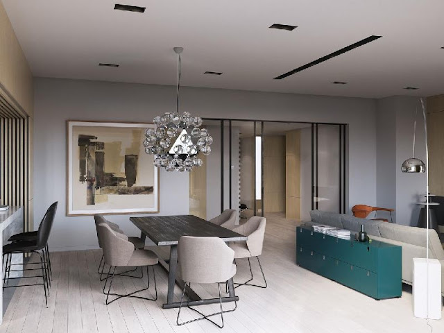 New Interior Design: Well-ordered and Mosaic-accented New Interior Design: Well-ordered and Mosaic-accented 19221640 a sleek modern home for a stylish t484ff12c