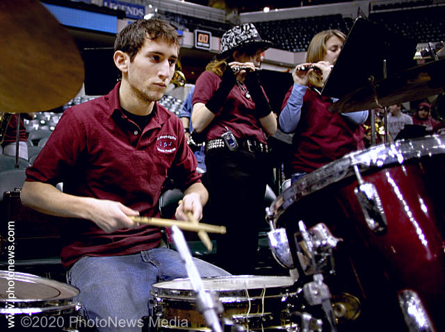 Drummer Brad Champ