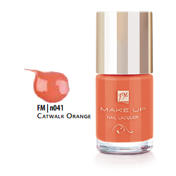 FM Group n041 Nail Lacquer Gel Finish