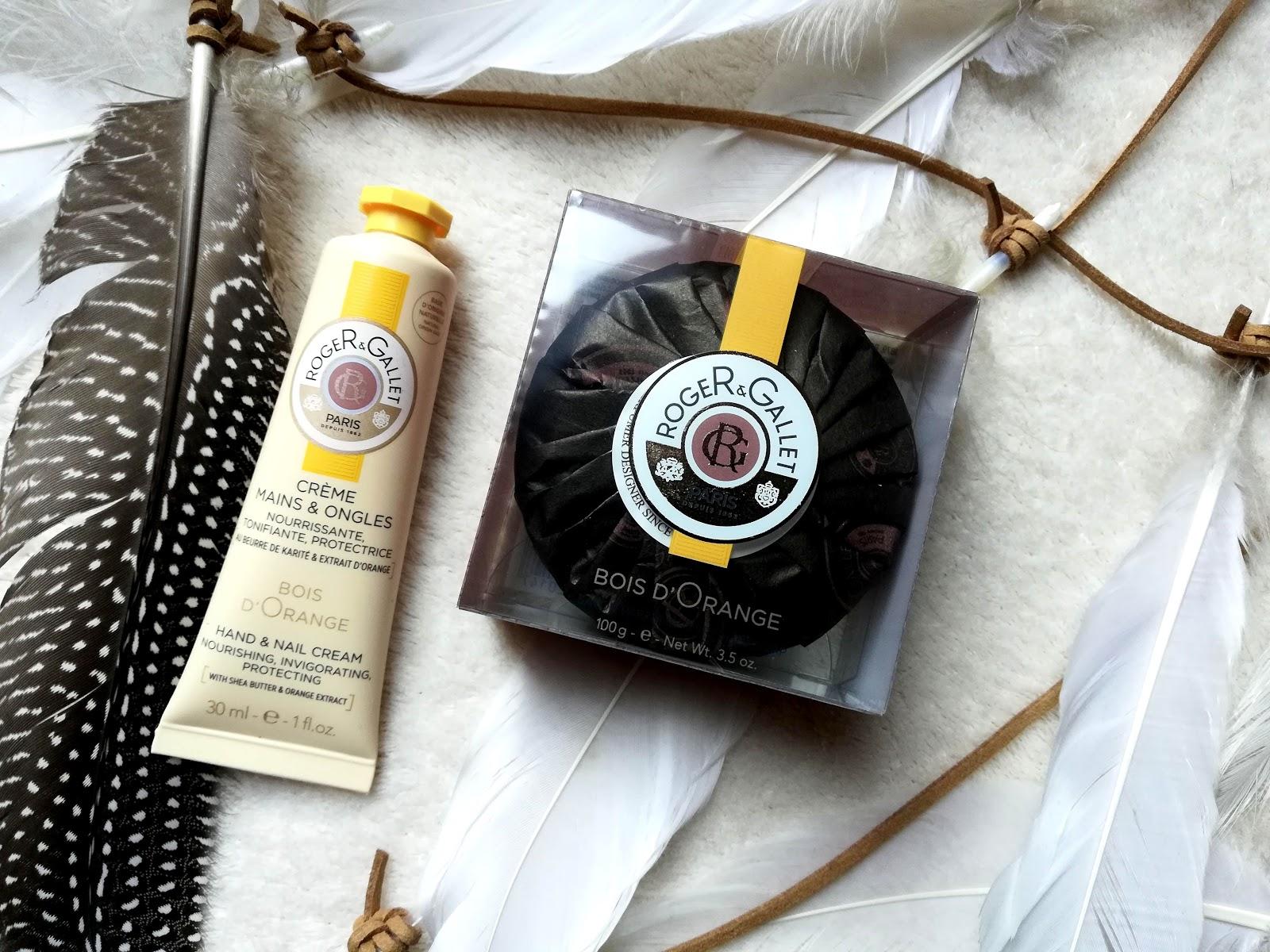 Crème mains & ongles et savon parfumé Bois d'orange ROGER & GALLET