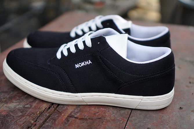 Sepatu Nokha tipe Kansas Black Men