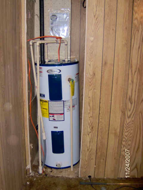 Diy Mobile Home Repair  Water Heater Repair
