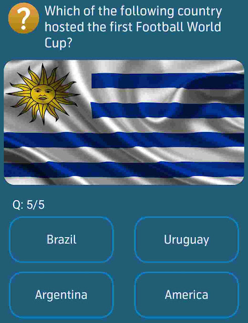 Which of the following country hosted the first Football World Cup?