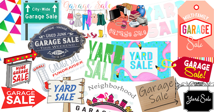 Garage Sale Images & Yard Sale Clip Art