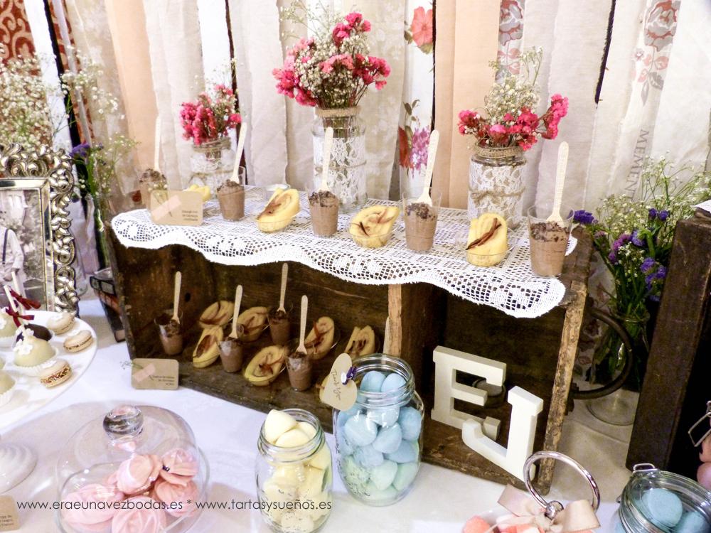 rase una vez Bodas y Eventos La mesa de dulces vintage