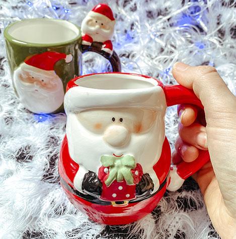 Canecas e xícaras de natal