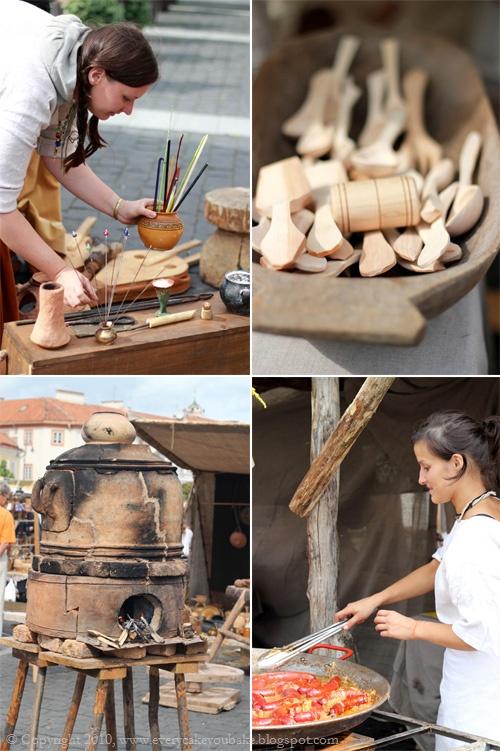 Wilno jarmark średniowieczny na rynku