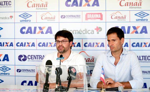 BAHIA: Presidente e diretor falam sobre a demissão do técnico Guto Ferreira. Futebol Baiano, Esporte, Notícias, Portal SPY