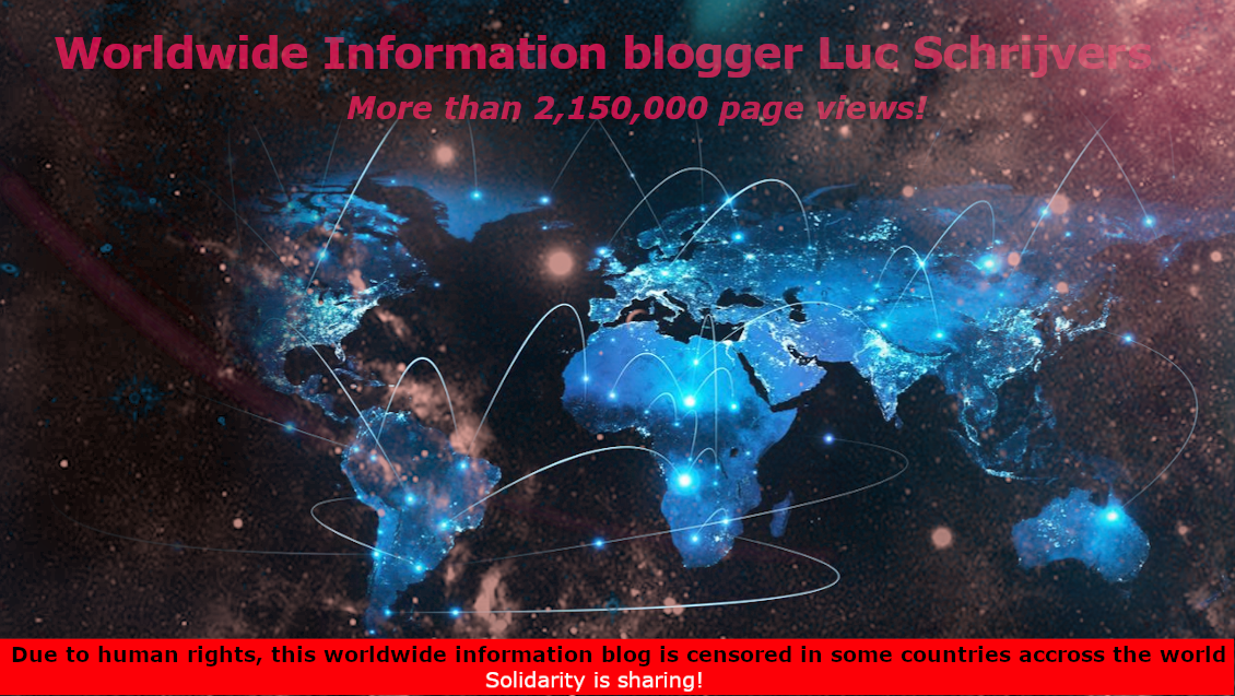 Worldwide Information Blogger Luc Schrijvers