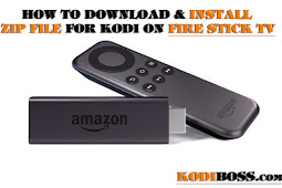 How To Download and Install .Zip File On Firestick TV Kodi