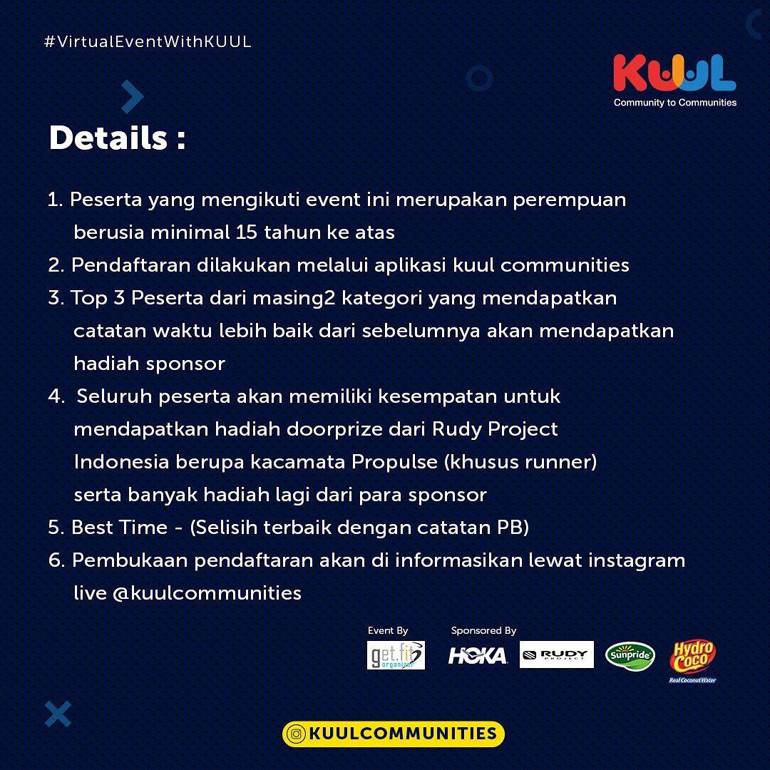Indonesia Women's Run - Virtual • 2021