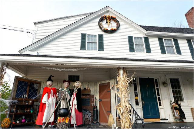 Retorno de las Brujas Calabaza en New Hampshire