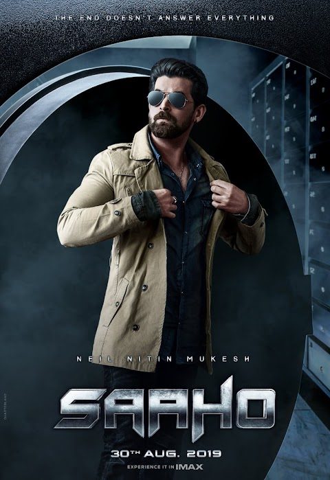 Niel Nithin Mukhesh First Look Poster from Saaho