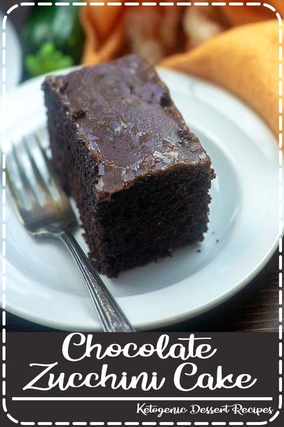 the perfect way to use up all that zucchini Chocolate Zucchini Cake
