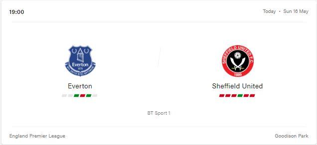 Everton vs Sheffield United Preview and Prediction 2021
