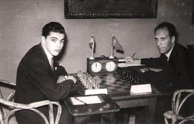 Partida de ajedrez Joaquim Durão - Josep María Bas, Barcelona 1951