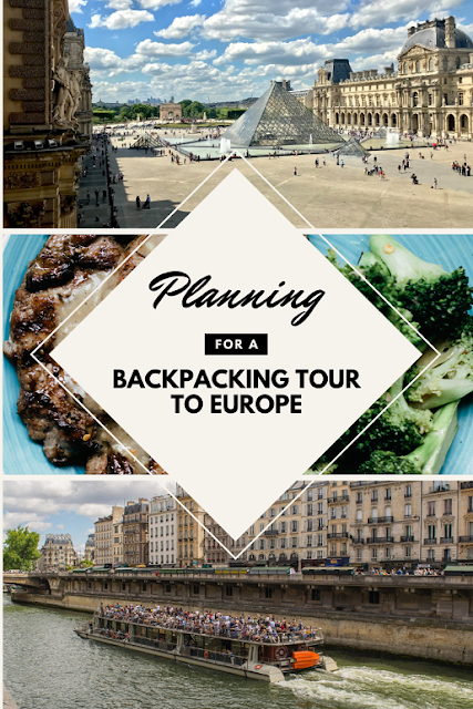 How To Plan A Trip To Europe: The First Step To Backpacking Europe @doibedouin