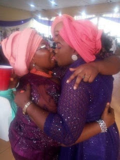 Photo Of Nigerian Women Locking Lips Goes Viral