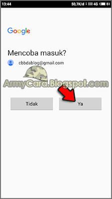 lupa kata sandi gmail hp android
