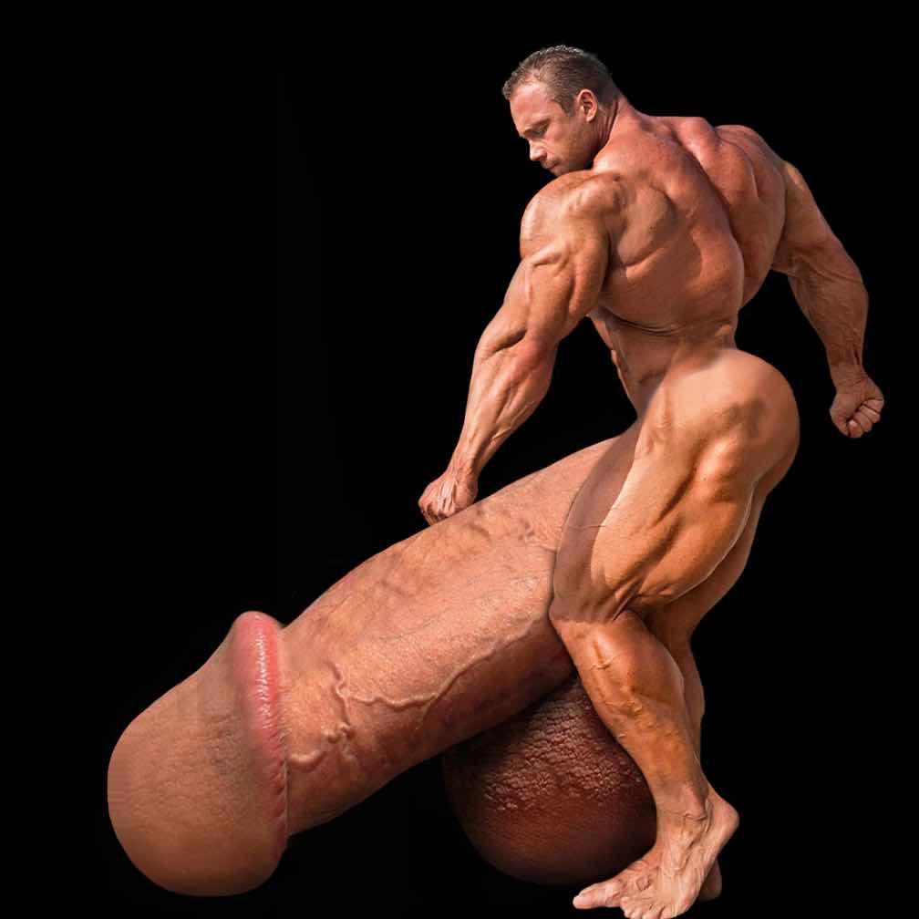 Gigantic morphed cocks gay