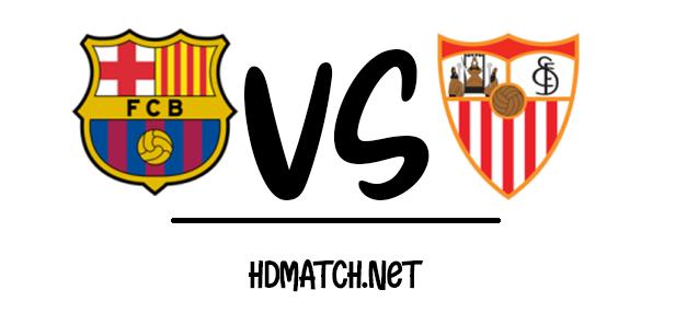 مشاهدة مباراة برشلونة واشبيلية بث مباشر اون لاين اليوم 19-6-2020 الدوري الاسباني يلا شوت sevilla fc vs barcelona