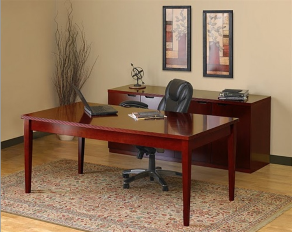 Luminary Home Table Desk Typical by Mayline