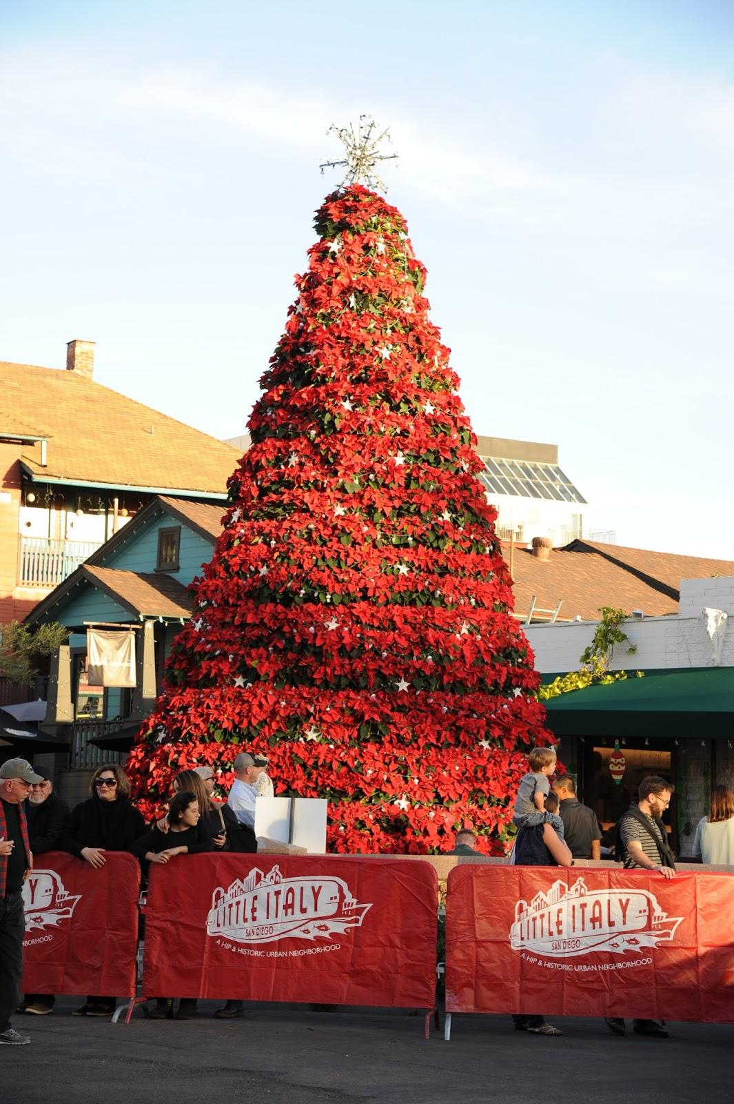 Little Christmas Italy.Little Italy Tree Lighting And Christmas Village San
