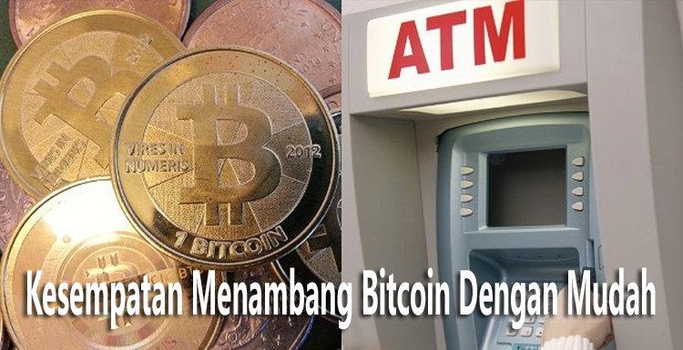 Kesempatan Menambang Bitcoin Dengan Mudah