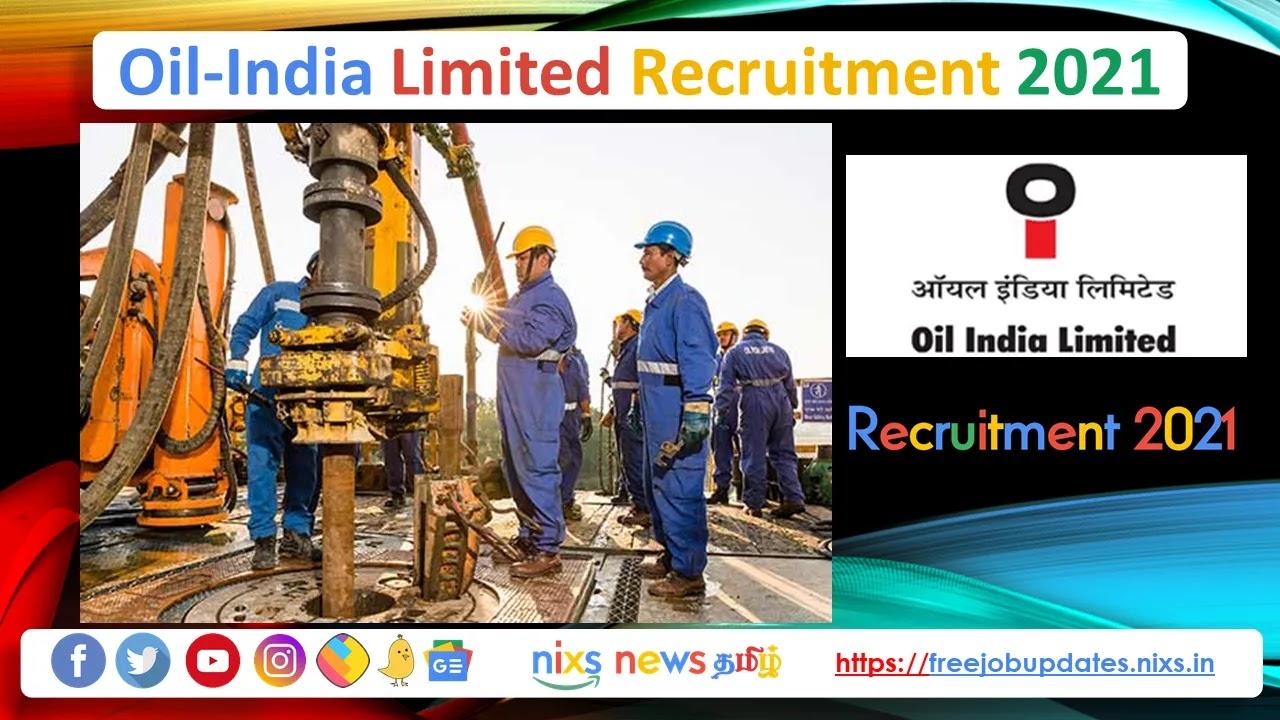 Oil India Recruitment 2021 35 Grade A, B & C Posts - Apply Online