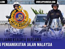 Jawatan Kosong di Jabatan Pengangkutan Jalan Malaysia