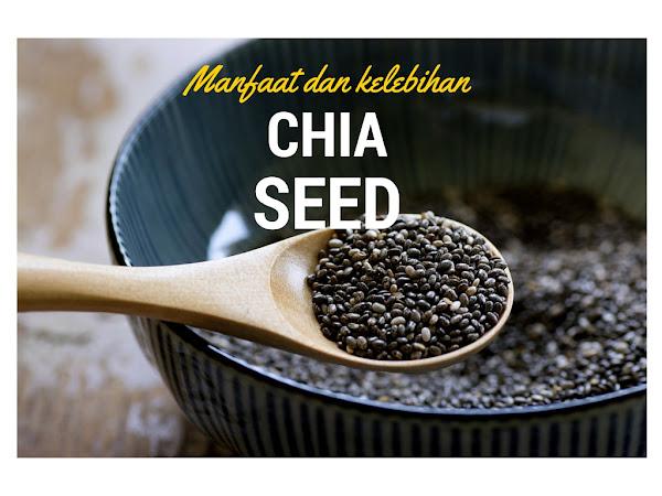 Manfaat menarik Chia Seed ( p/s : especially untuk kurus )
