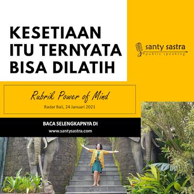 Slide33- Radar Bali Jawa Pos - Santy Sastra Public Speaking - Rubrik The Power of Mind
