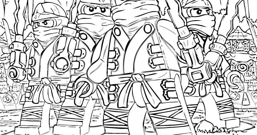 ninjago 2014 coloring pages - photo#9