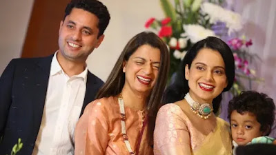 rangolichandel will adopt a baby girl, kangana name her ganga