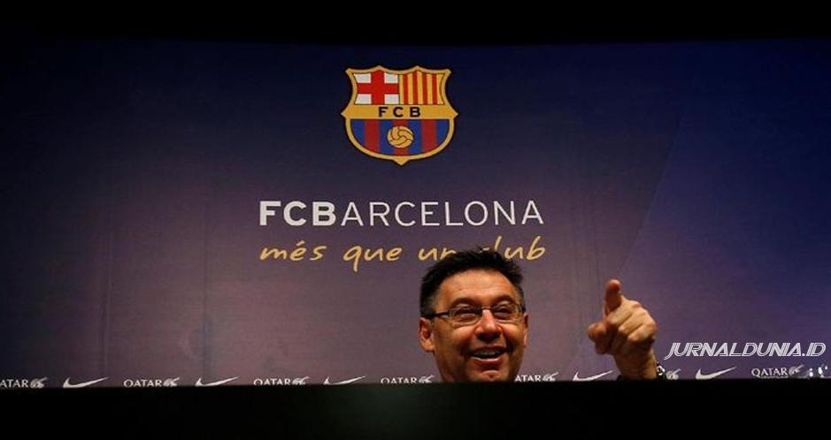 Presiden Barcelona Hadapi Mosi Tidak Percaya