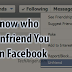 Can You Find Out who Unfriended You On Facebook Updated 2019