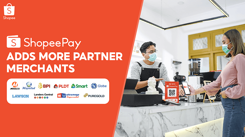 ShopeePay is now accepted in over 50,000 locations as it adds partner stores nationwide!