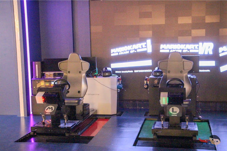 Mario Kart VR Racing in The Garage, Manila