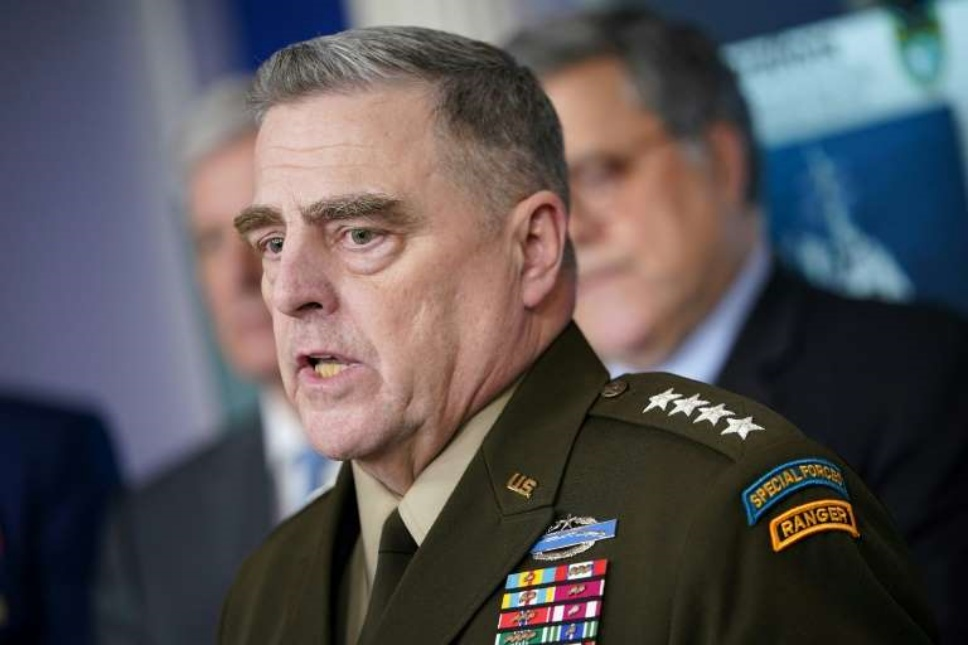 Joint Chiefs Chairman General Mark Milley