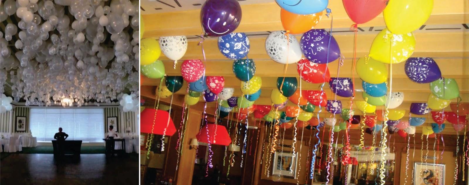 Imagenes fantasia y color decora con globos sin usar helio - Decora con globos ...