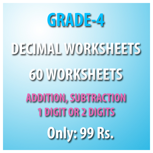math worksheet : buy grade 4 decimal worksheets pdf  my free worksheet : Decimal Worksheets Pdf