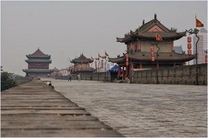 กำแพงเมืองซีอาน (Xi'an City Wall)