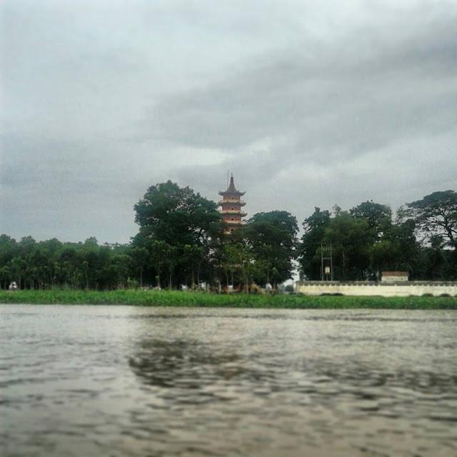 Pulau Kemaro, Wisata Palembang, Sungai Musi
