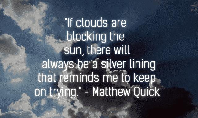 dark clouds quotes