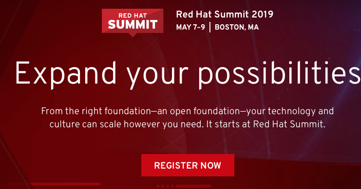 Eric D  Schabell: Red Hat Summit 2019: Integration and API