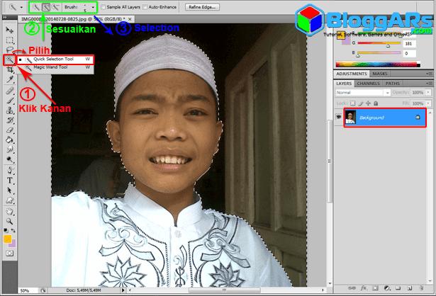 Cara Membuat Pas Foto di Photoshop   3KENCANA PHOTOGRAPHY