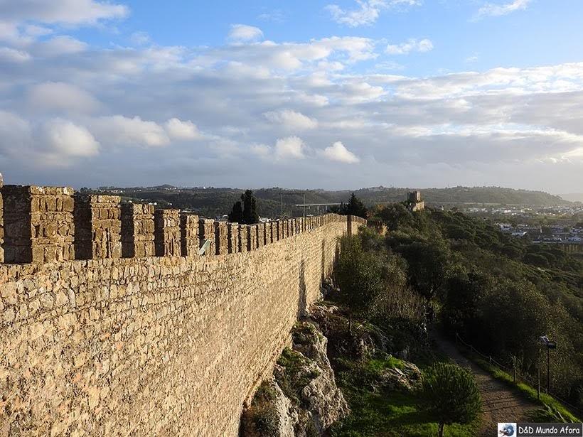 Parte das Muralhas de Óbidos - O que fazer em Óbidos